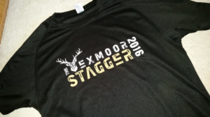 A technical tee from the Stagger.